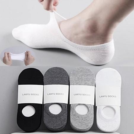 Chaussette Invisible hors de la chaussure, 100% coton.
