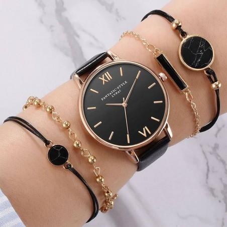 Montre avec des bracelets pour femmes