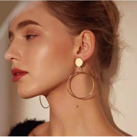 Boucles d'oreilles - Créoles Fashion
