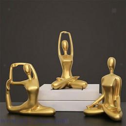 Sculpture de statue de Yoga...