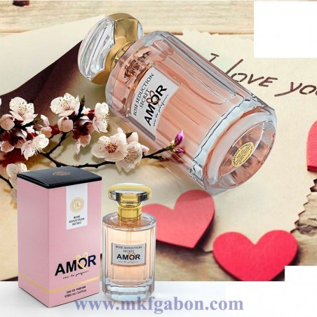 Eau de Parfum '' Rose Séduction Secret Amor''