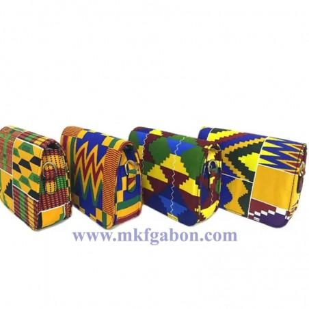 Sac à bandoulière imprimé africain traditionnel