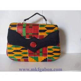 Sacoche imprimé africain