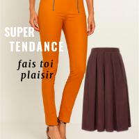 Pantalon et jupes